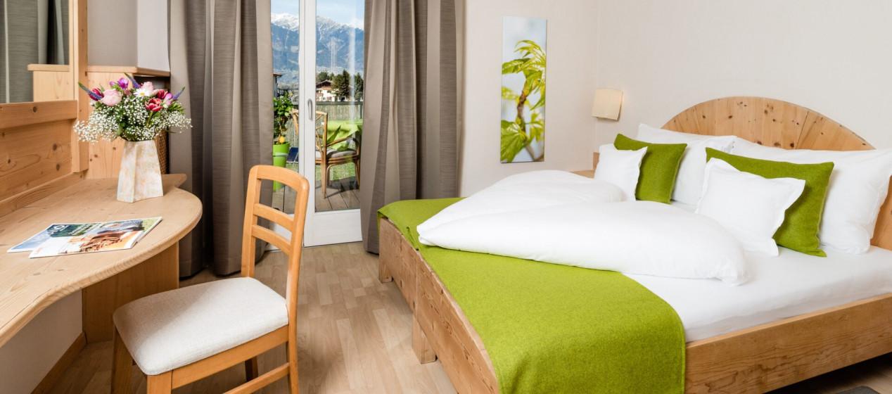 Zimmer Samerling - 4 Sterne Hotel in Lana Pfeiss - Meran - Südtirol