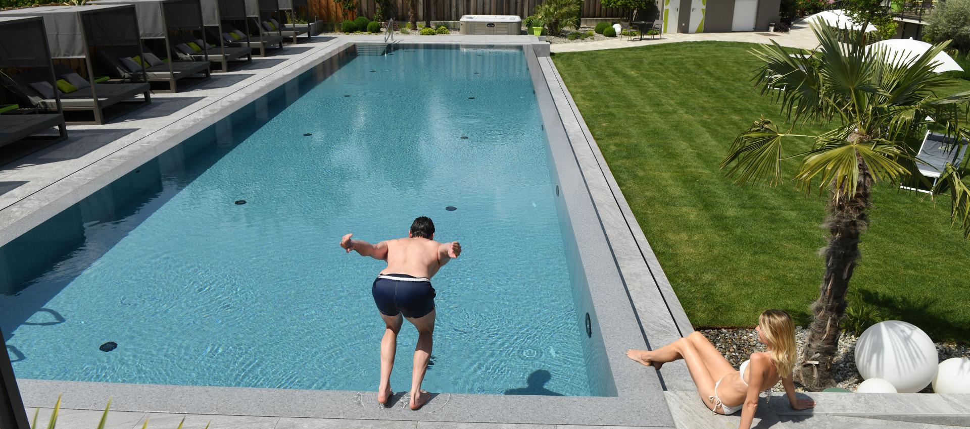 Pool, Aktiv Urlaub Lana