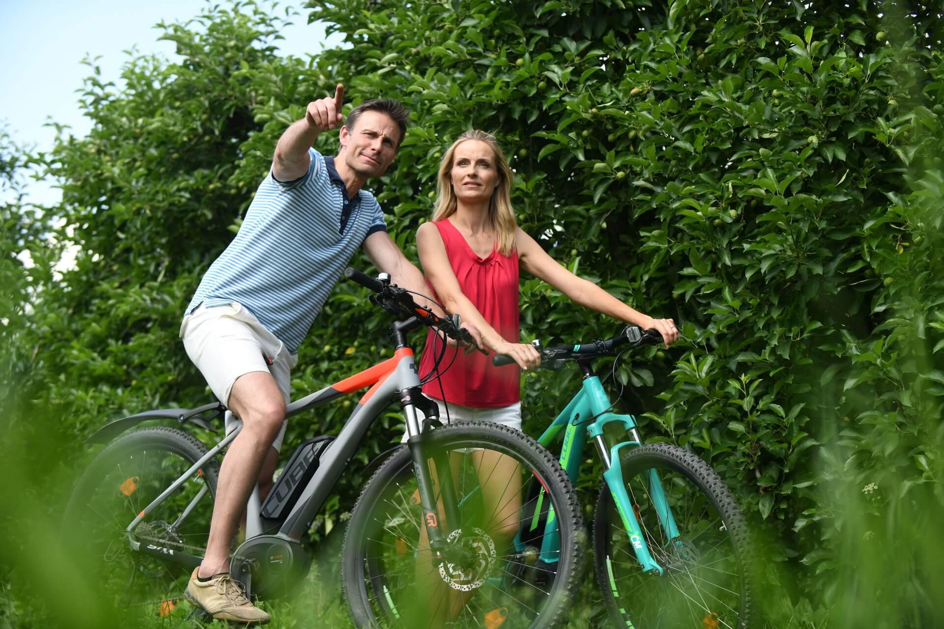 Radfahren, Aktiv Urlaub Lana