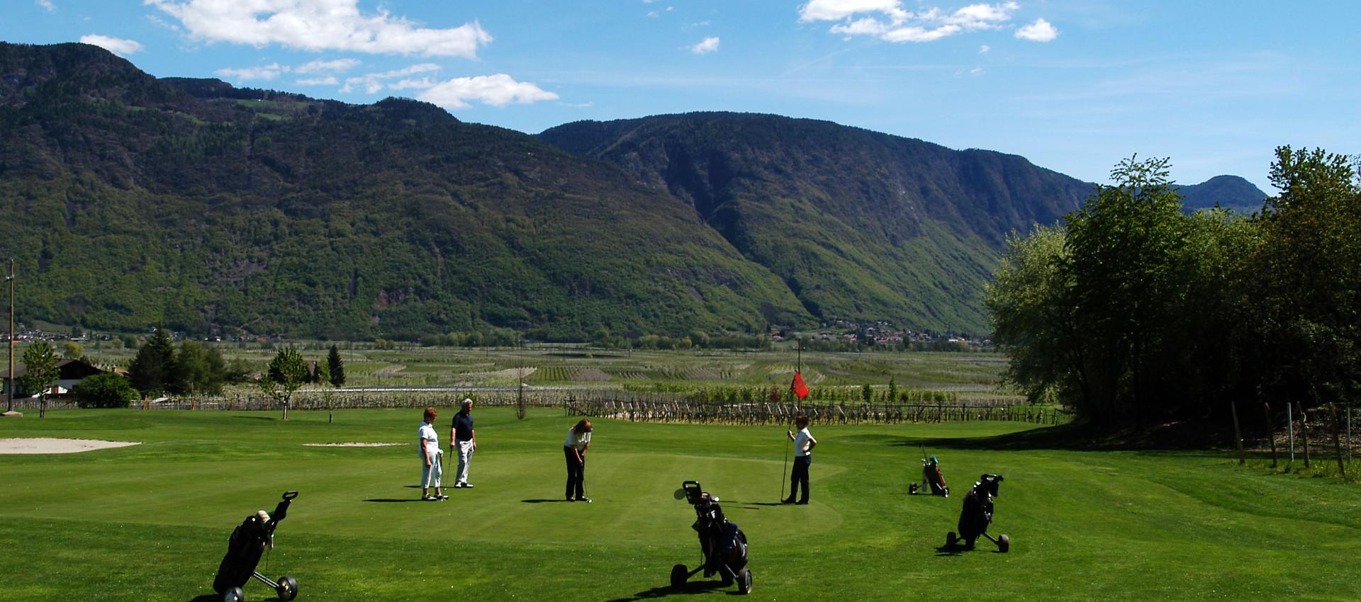 Golfurlaub in Lana, Südtiol