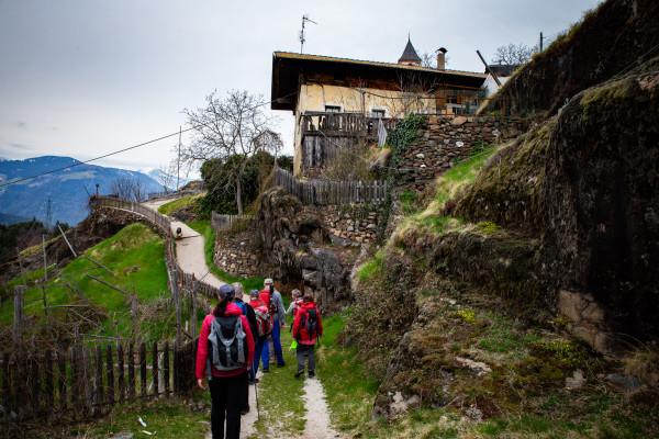 Aktiv Urlaub Lana Hotel 4 Sterne Südtirol, Wandern