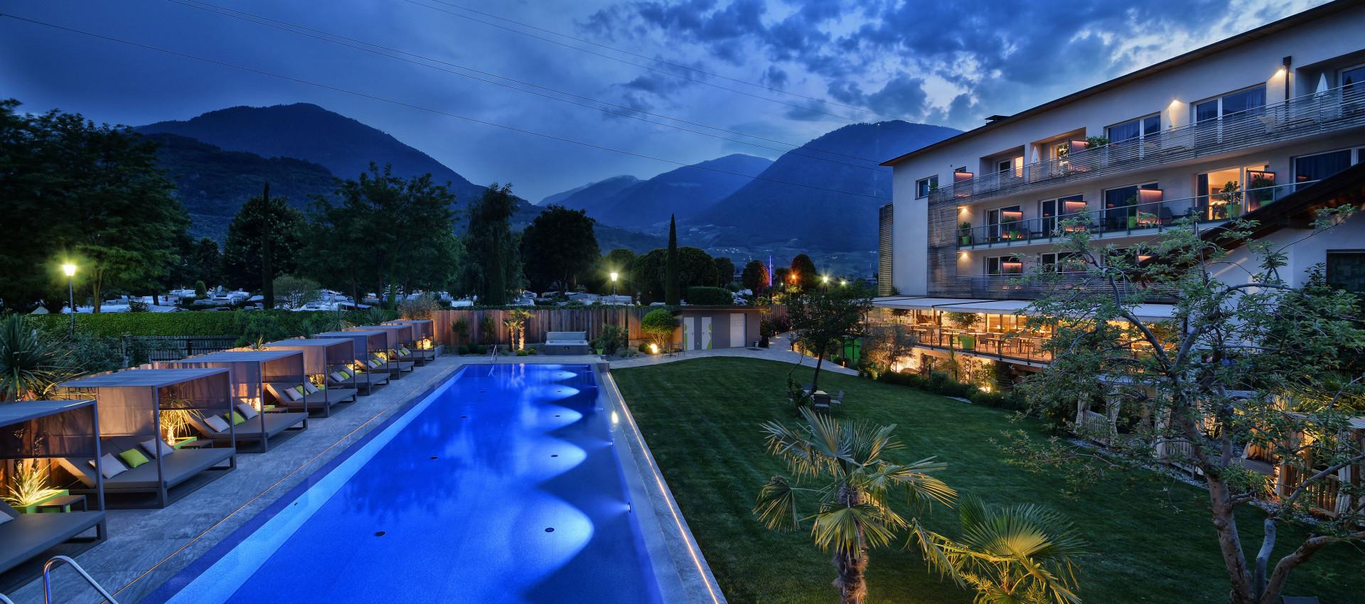 Hotel Pfeiss in Lana, Genuss, Erholung