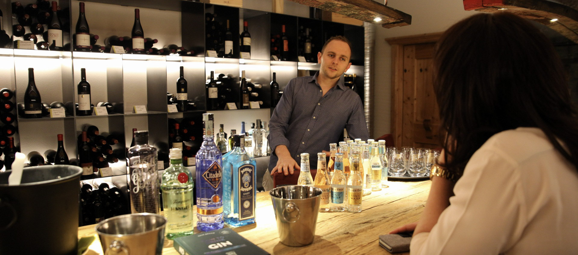 Hotel 4 Sterne bei Meran, Gin Kulinari