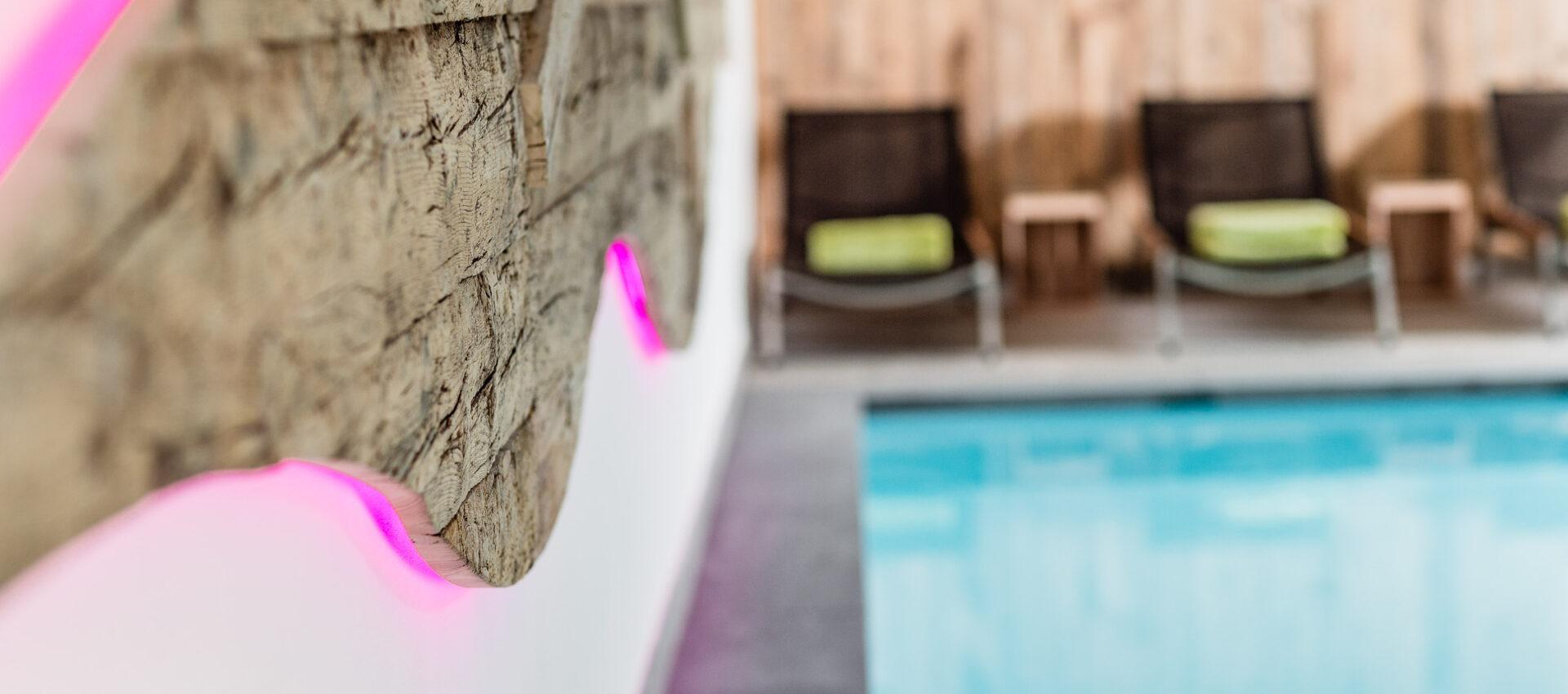 Atmosphäre Pool 4 Sterne Hotel in Lana Pfeiss - Meran - Südtirol 4 Sterne Hotel in Lana Pfeiss - Meran - Südtirol