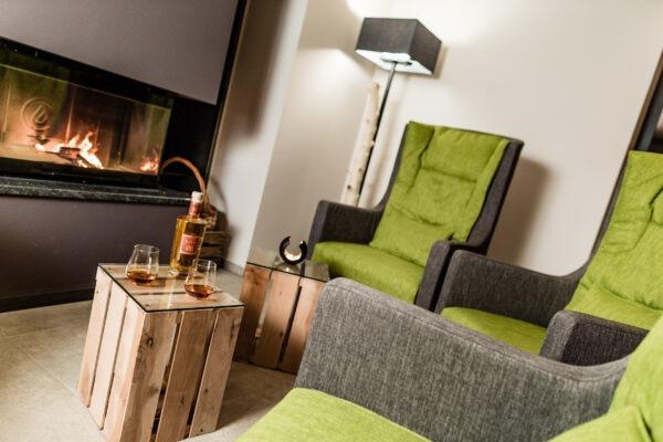 Kamin 4 Sterne Hotel in Lana Pfeiss -Ihr Hotel in den Bergen Meran - Südtirol