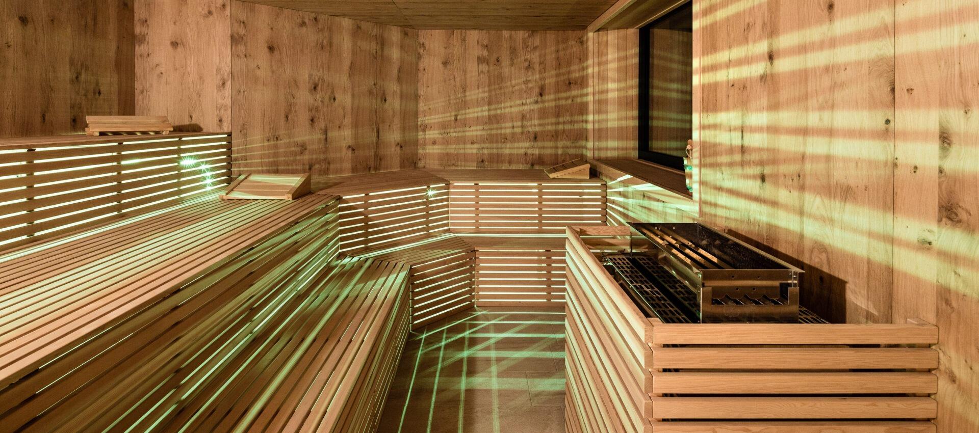 Finnische Sauna 4 Sterne Hotel in Lana Pfeiss - Meran - Südtirol