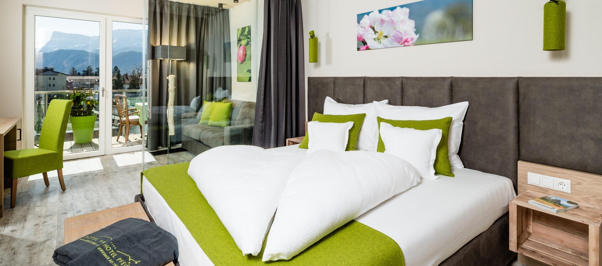 Zimmer Elstar 4 Sterne Hotel in Lana Pfeiss - Meran - Südtirol